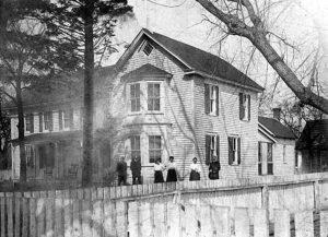 the inn back in 1909