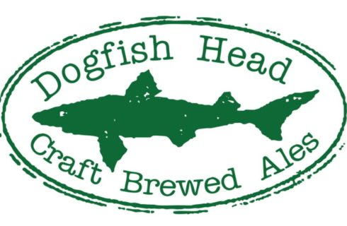 green shark dogfish head logo