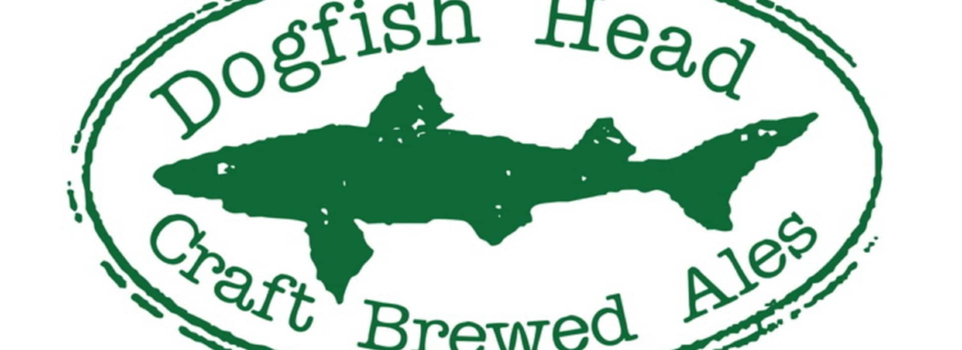 green shark dog fish logo