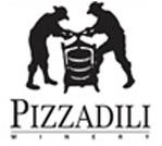 Pizzadili Logo black with two stick men