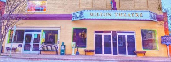 Milton theatre back in the 1940s